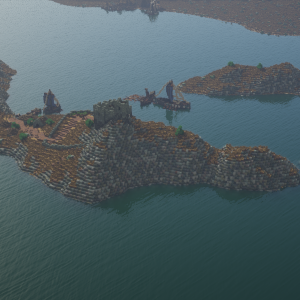 Stony Shore: Now with big water stones